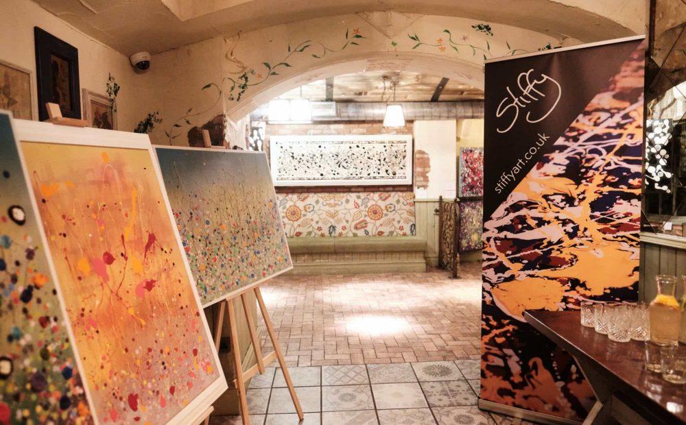Stiffy Art Launch Birmingham 2019 3