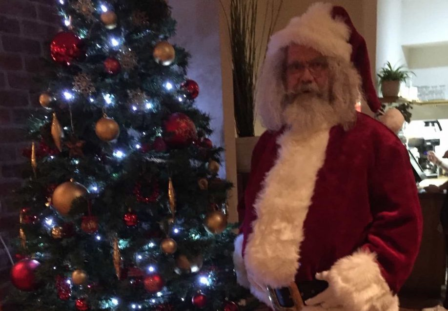 Stiffy as Santa