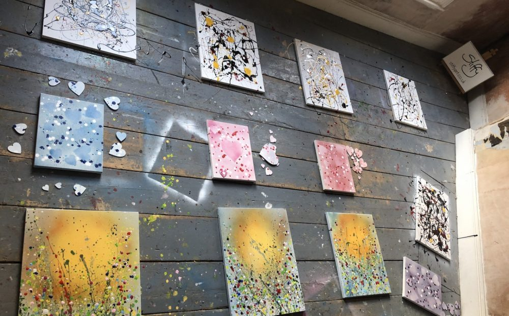Abstract, Expressionism and Stencil Art workshop