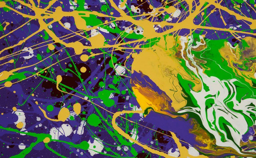 Number 63_6 Oil on canvas, 76 x 122 cm, 2019 - Stiffy Art