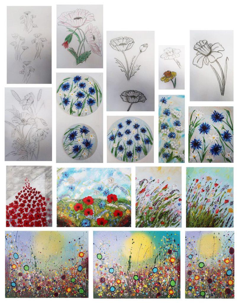 All flowers - Stiffy Art