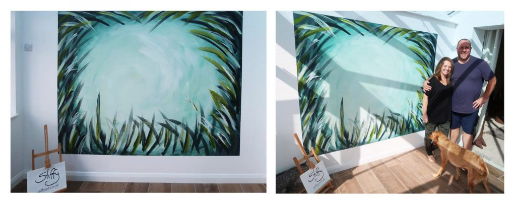 Brush strokes commission - Stiffy Art