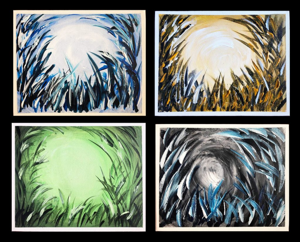 Monochrome Works - Brush strokes series - Stiffy Art